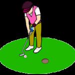 出球を揃えてゴルフスイングを安定させる