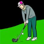 バンカーショトの基本のゴルフスイング